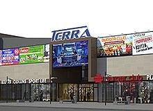 Оформление фасада ТЦ TERRA